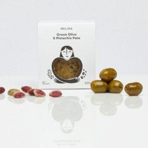Olivenpaste mit Pistazien